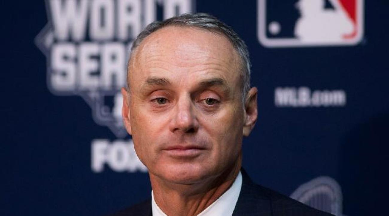 Commissioner Rob Manfred wants MLB to hire more minority managers IMAGE