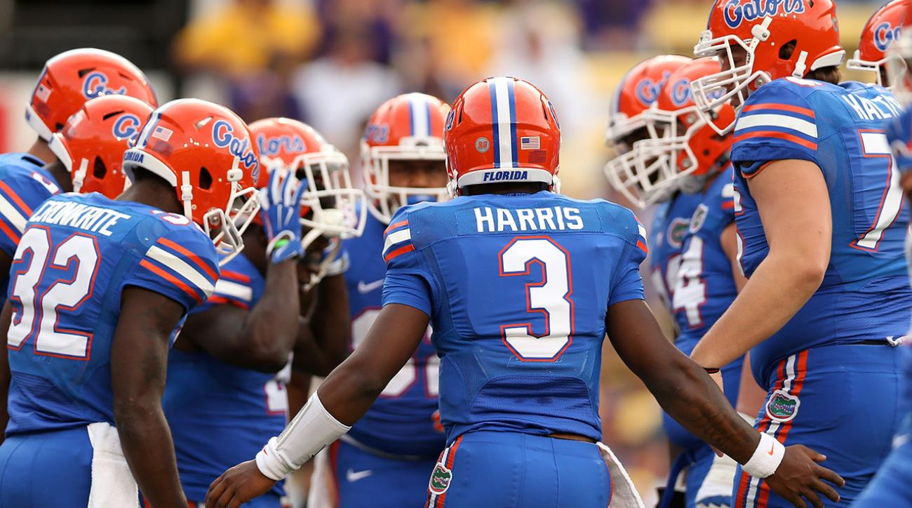 college games on today florida football ranking