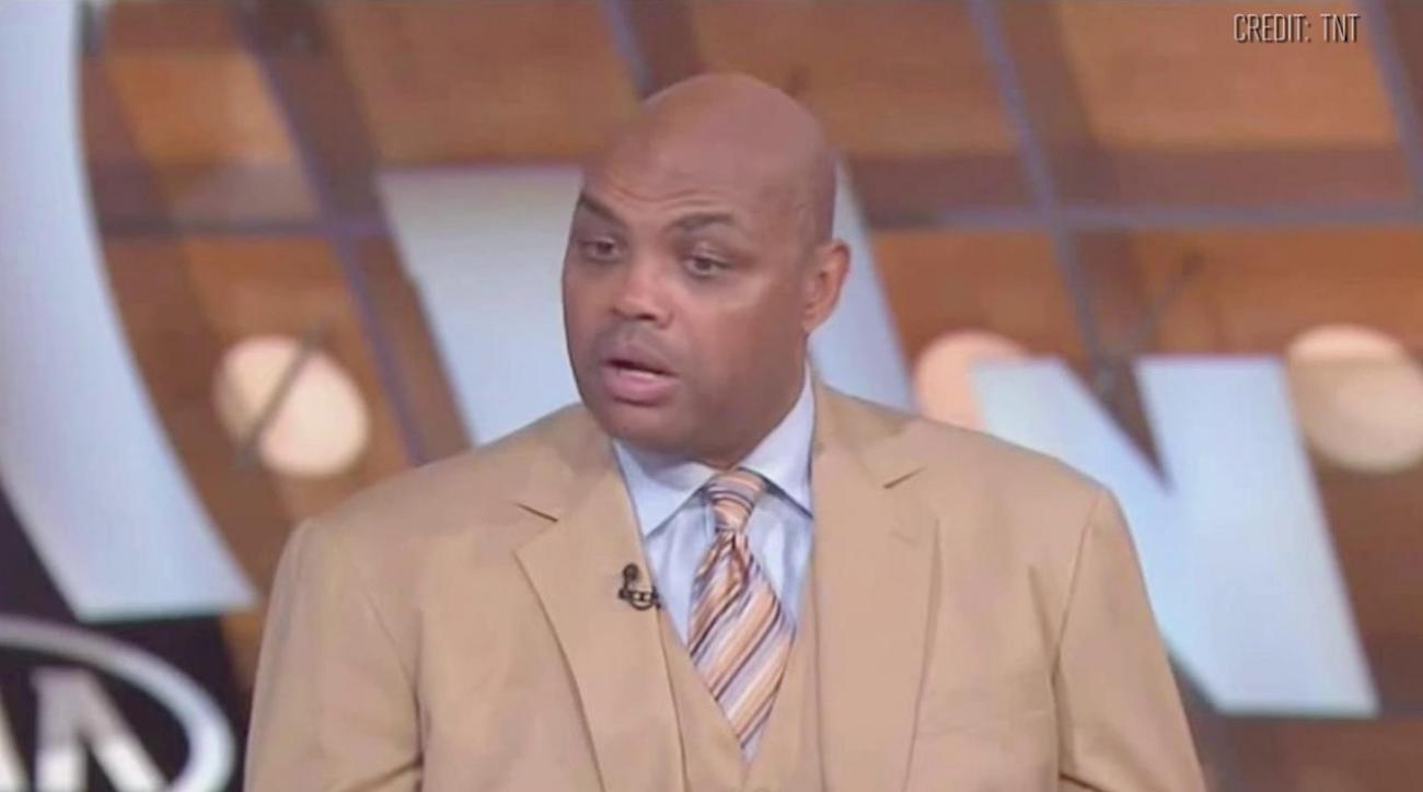 Warriors tease Charles Barkley with shirt