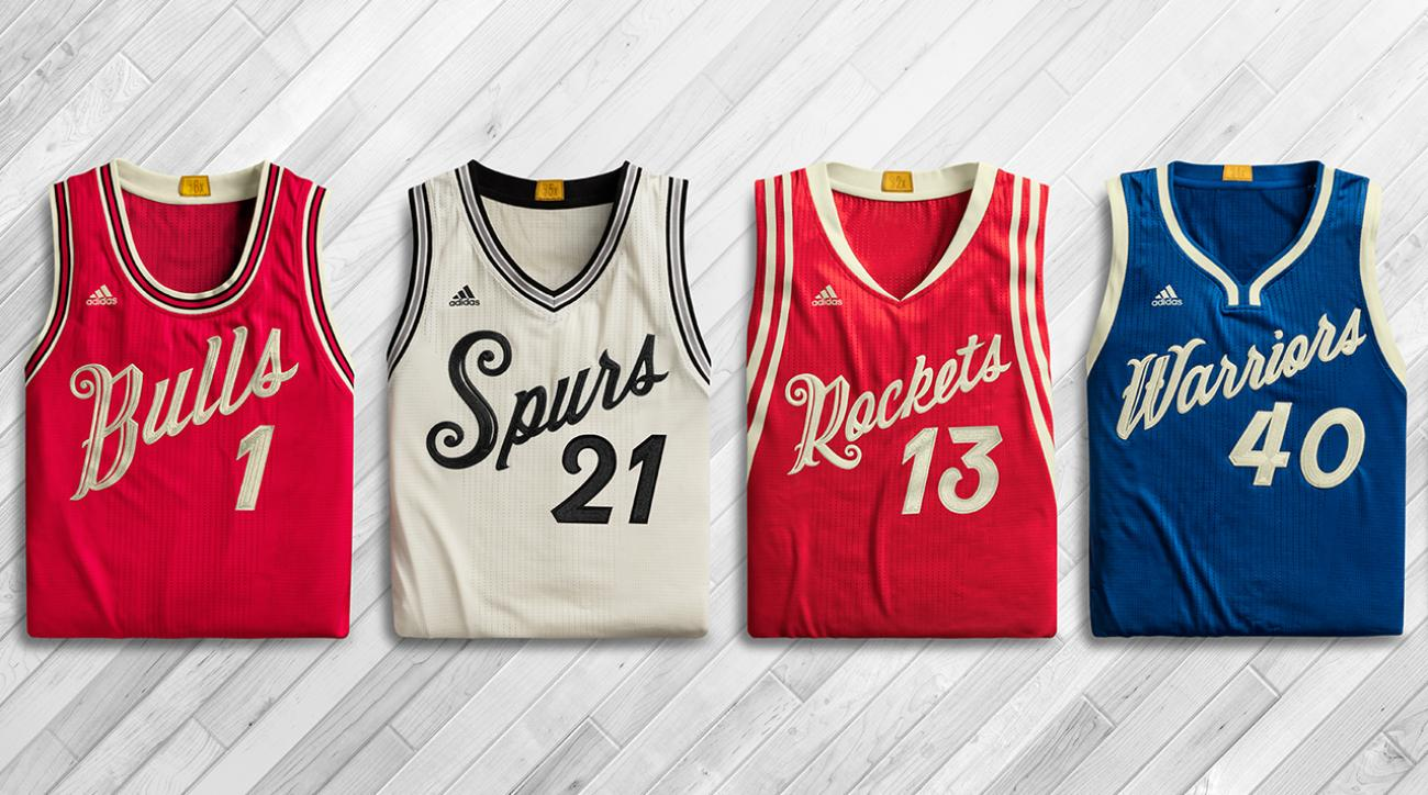 NBA unveils 2015 Christmas Day jerseys and socks IMAGE
