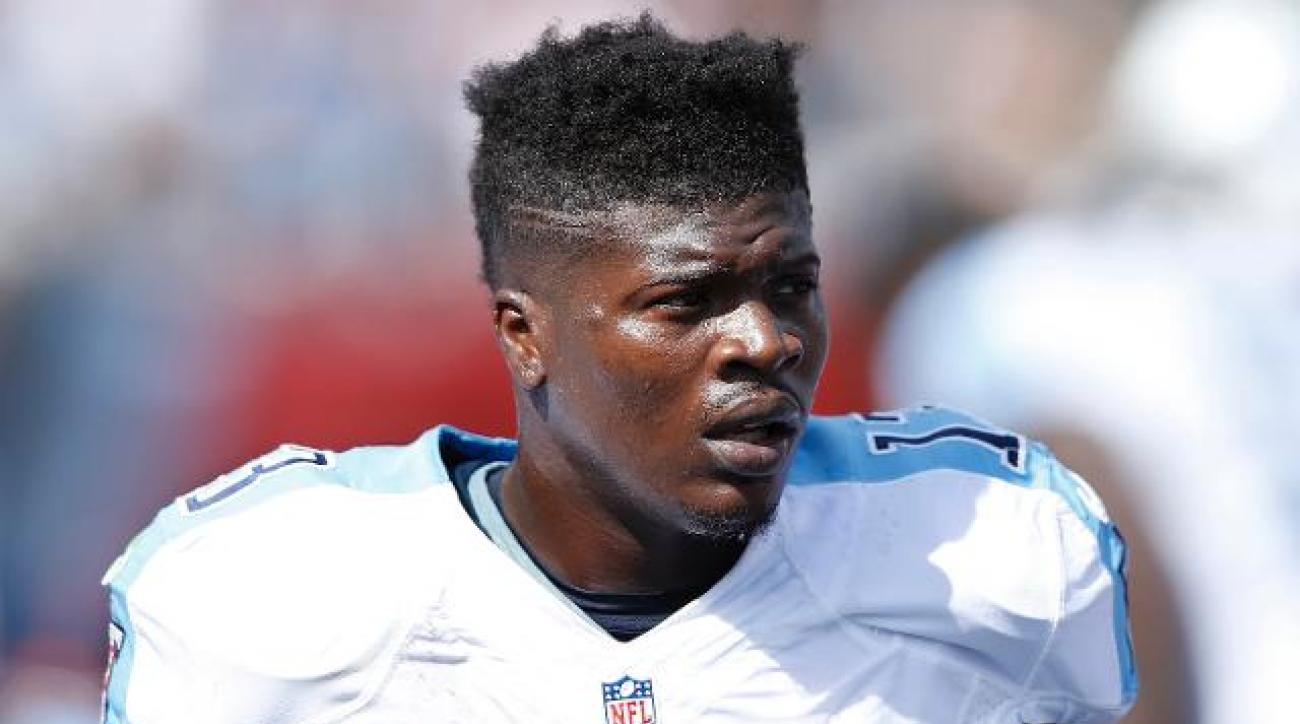Titans WR Kendall Wright sustains MCL sprain vs. Texans