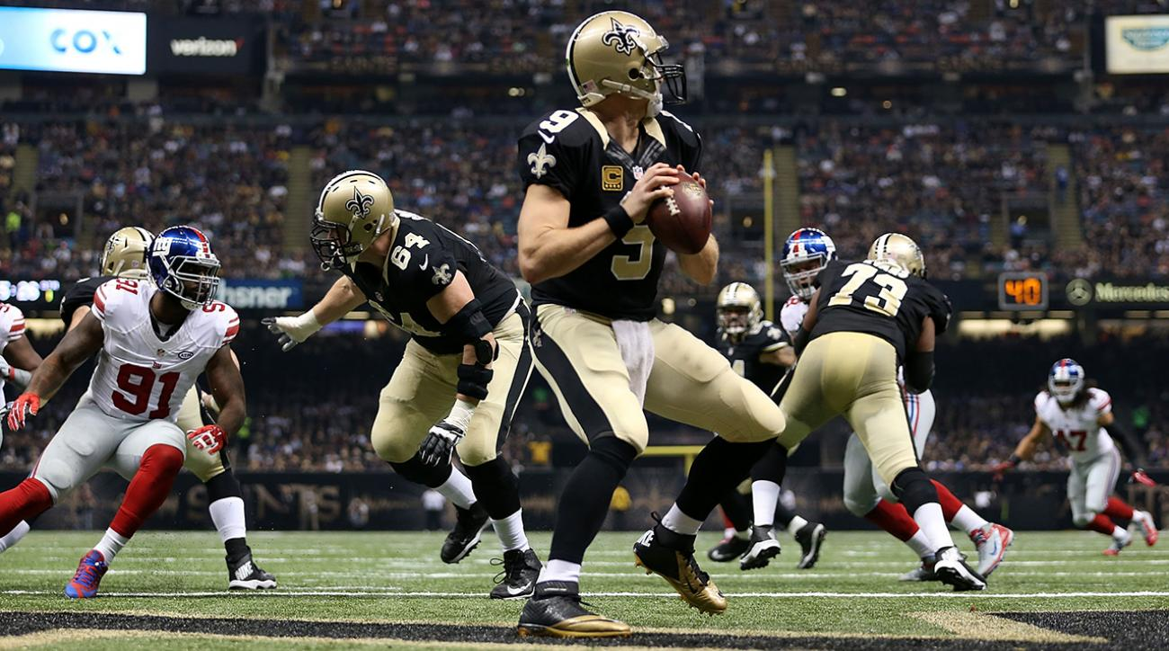 Unexpected offensive displays Drew Brees IMG