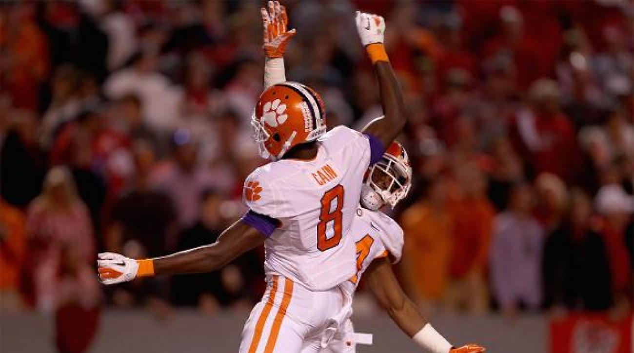 College Football Playoff rankings: Clemson, LSU, Ohio State, Alabama IMAGE