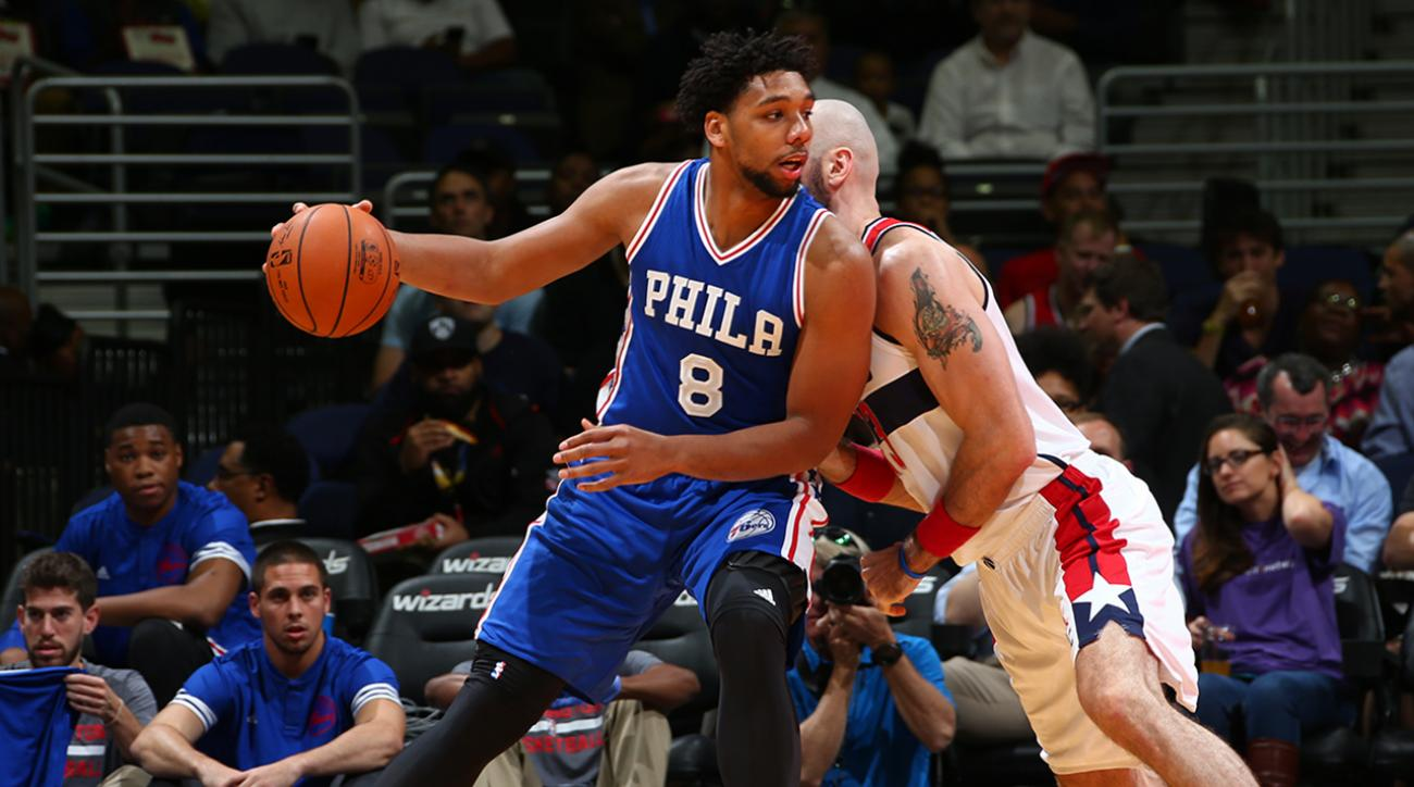 What's Jahlil Okafor's ceiling? IMG