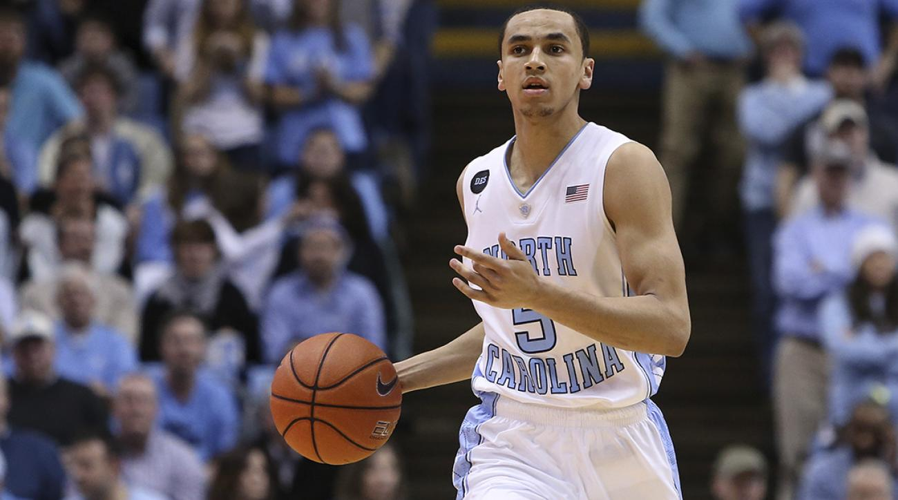 UNC G Marcus Paige out 3-4 weeks with broken hand