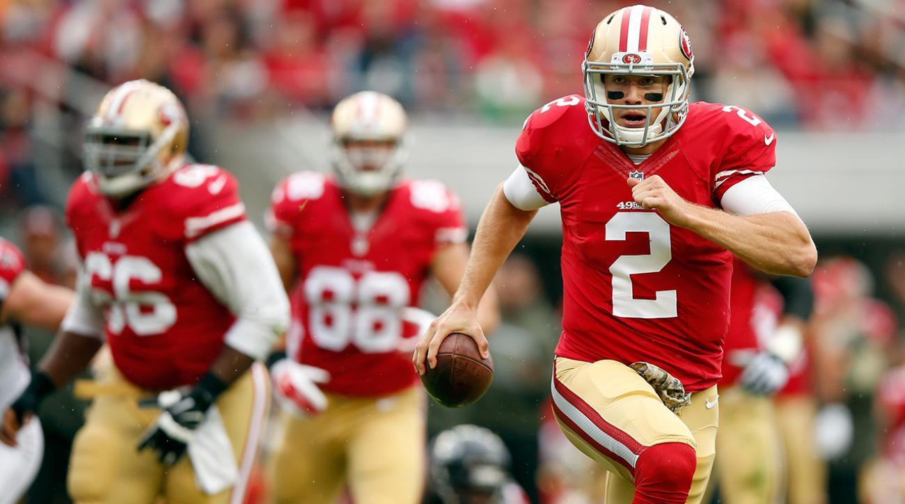 49ers QB Blaine Gabbert named starter for Week 11 vs. Seahawks IMAGE