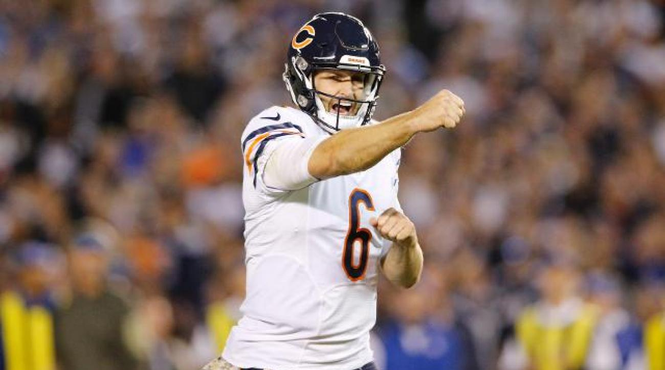 Bears beat Chargers 22-19 on Monday Night Football