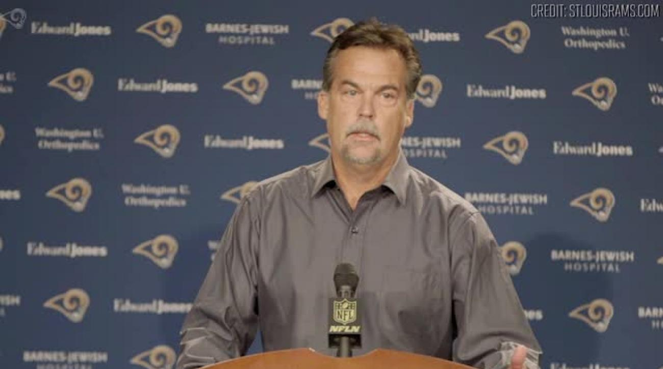 Jeff Fisher responds to Rodney Harrison saying his teams are dirty
