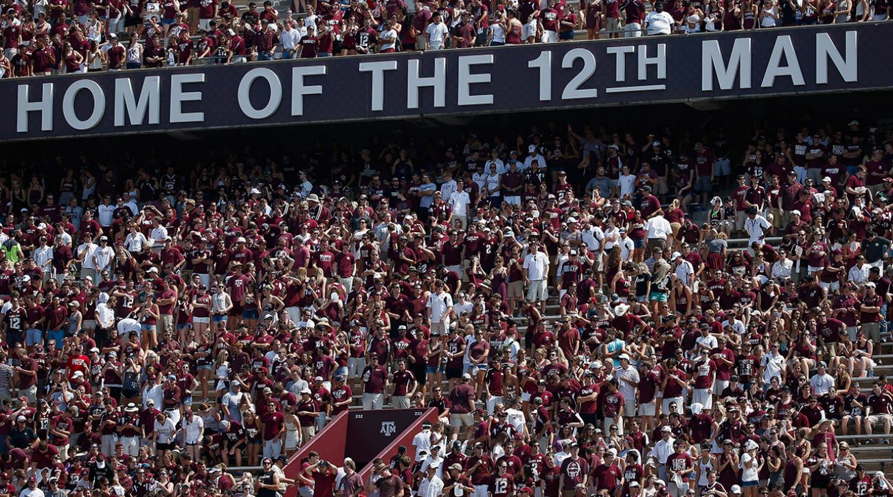 Texas A&M sues Indianapolis Colts for unauthorized use of '12th Man' IMAGE