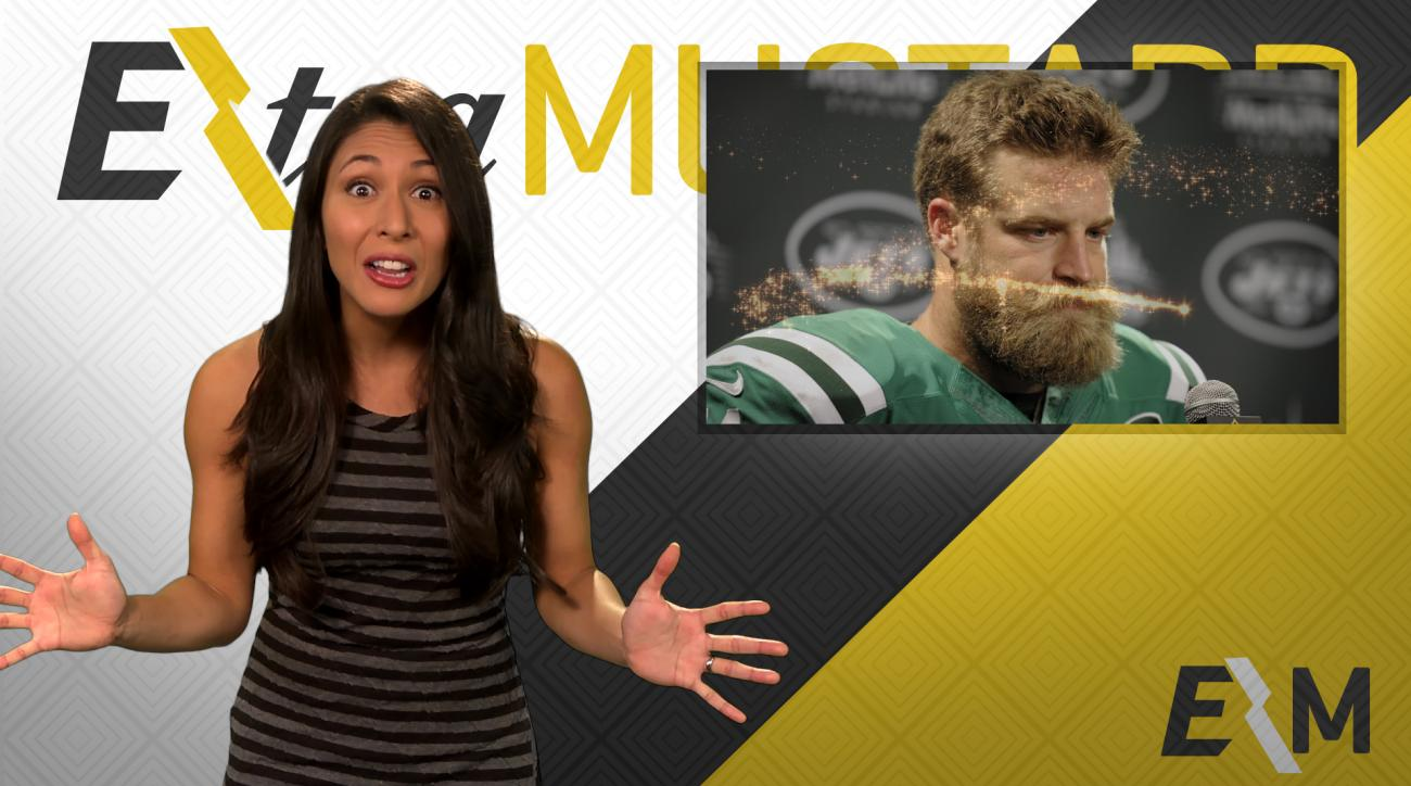 Mustard Minute: Ryan Fitzpatrick's magical beard transforms Jets-Bills uniforms IMG
