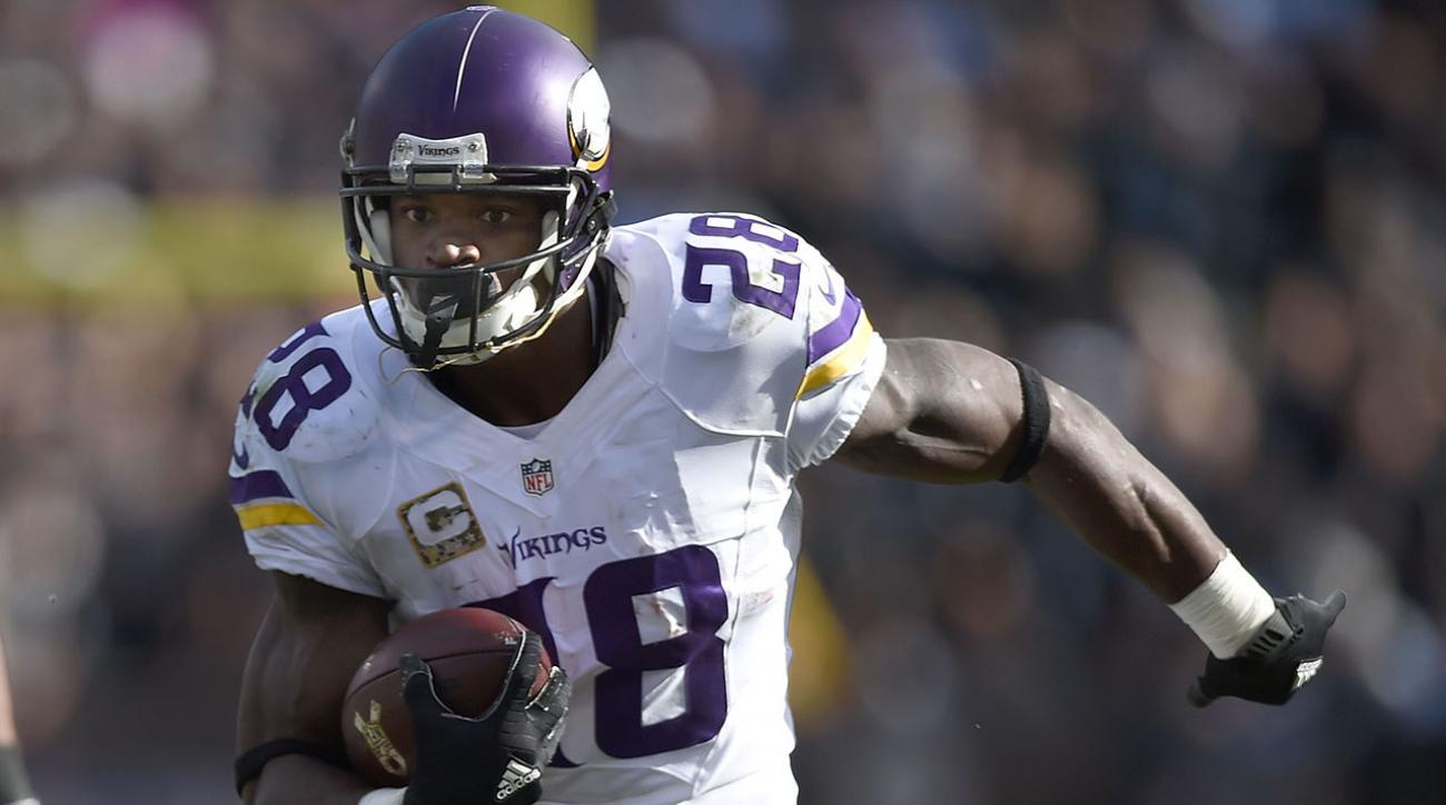 Peterson's 203-yard game puts him into MVP conversation