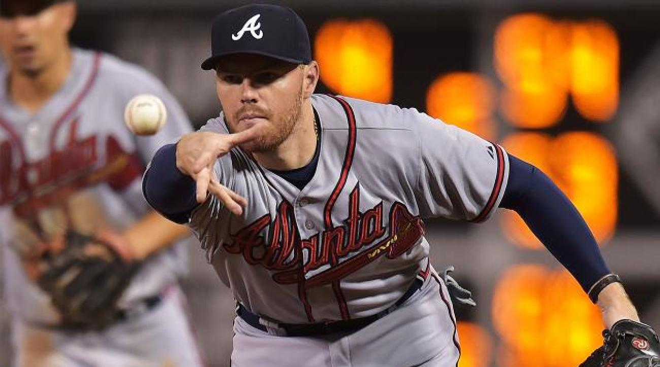 Report: Braves exploring trade options for 1B Freddie Freeman