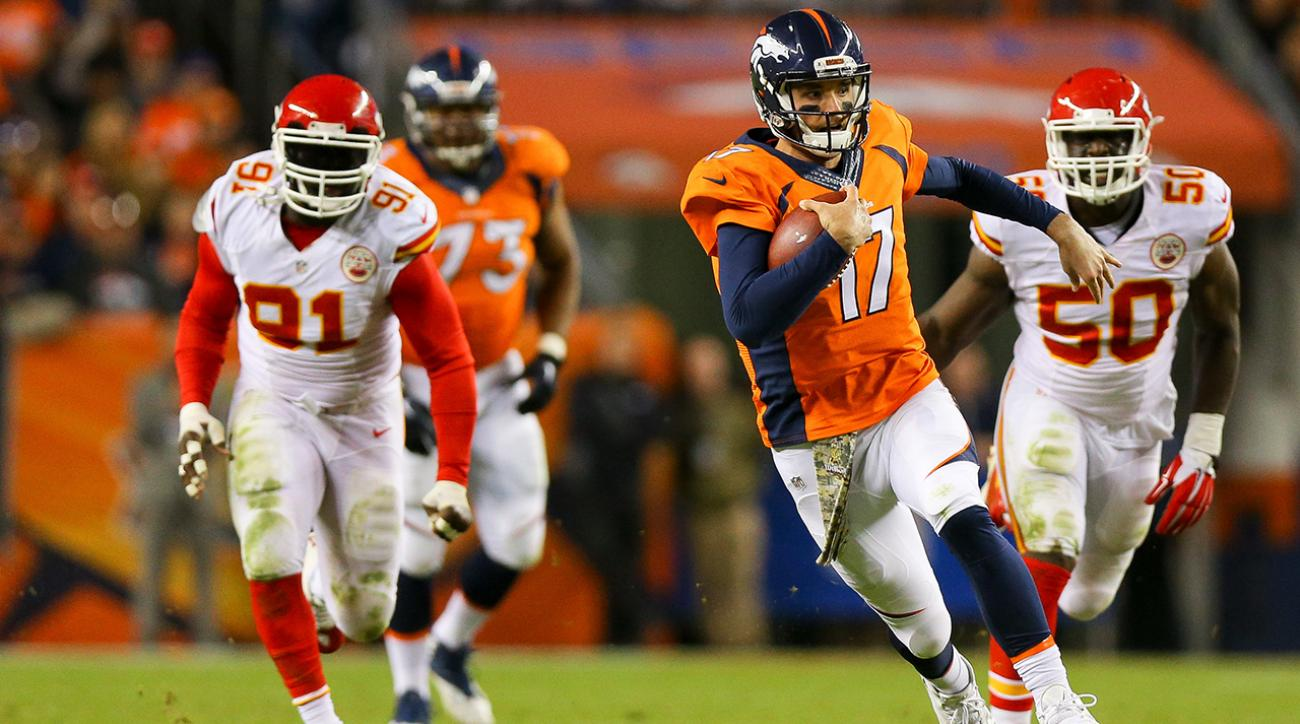 Brock Osweiler will be Denver Broncos starting QB vs Bears IMAGE