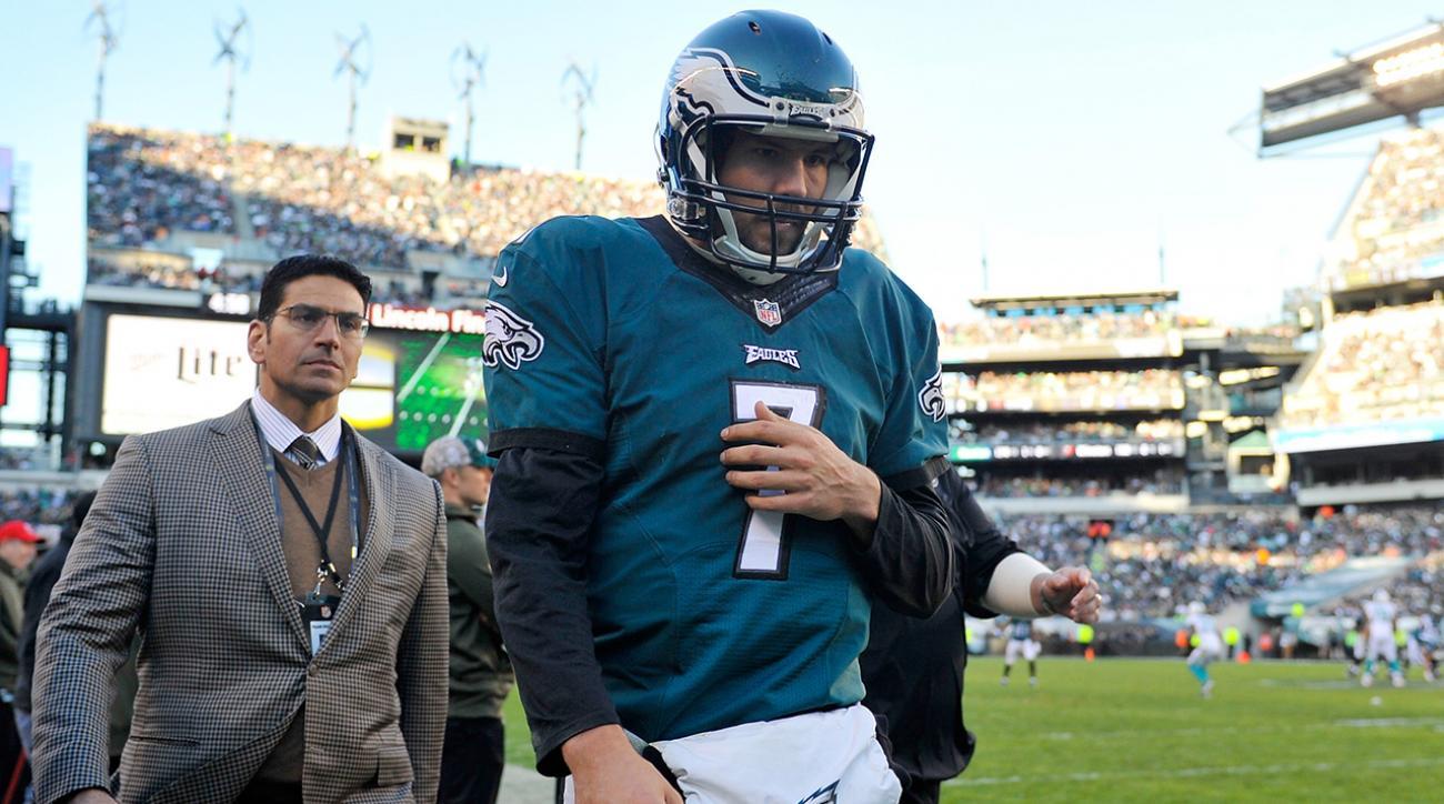 Report: Philadelphia Eagles QB Sam Bradford likely to miss two games IMAGE