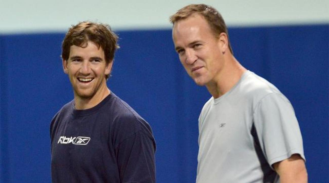 Giants QB Eli Manning on brother Peyton: 'He'll bounce back'