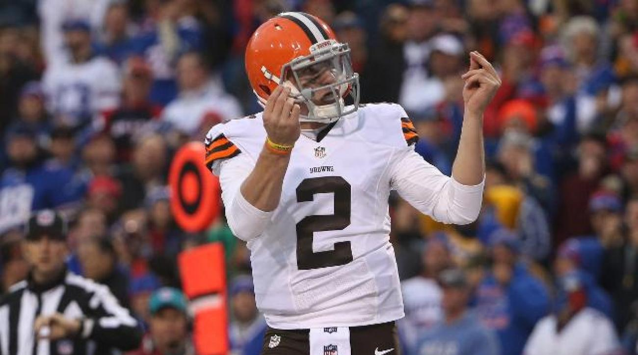 Cleveland Browns name Johnny Manziel starting QB for rest of season