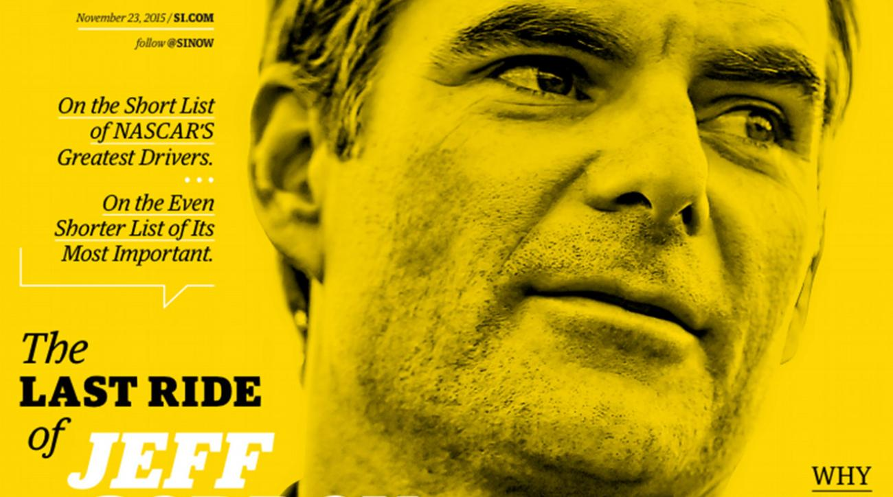 Jeff Gordon lands SI cover