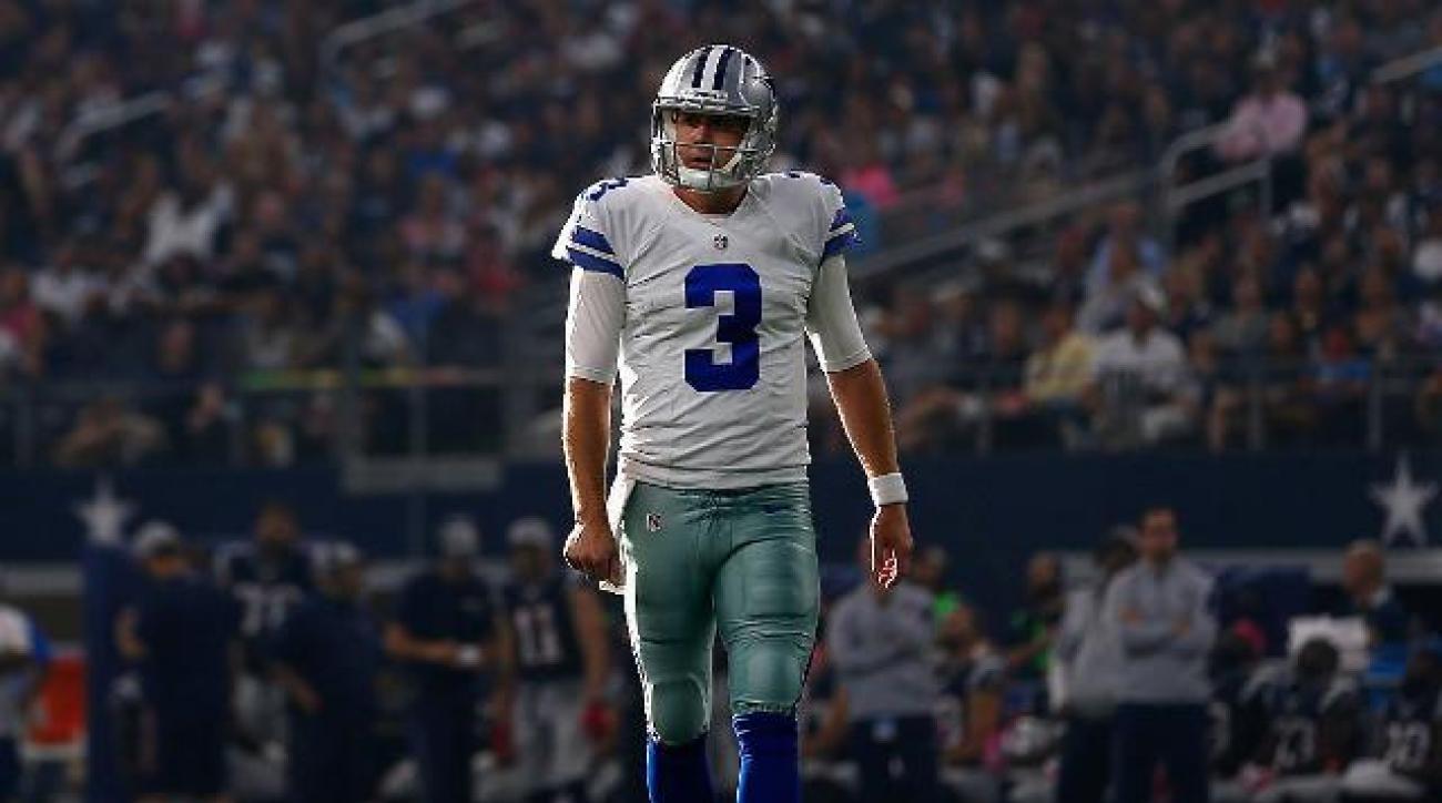Dallas Cowboys release QB Brandon Weeden