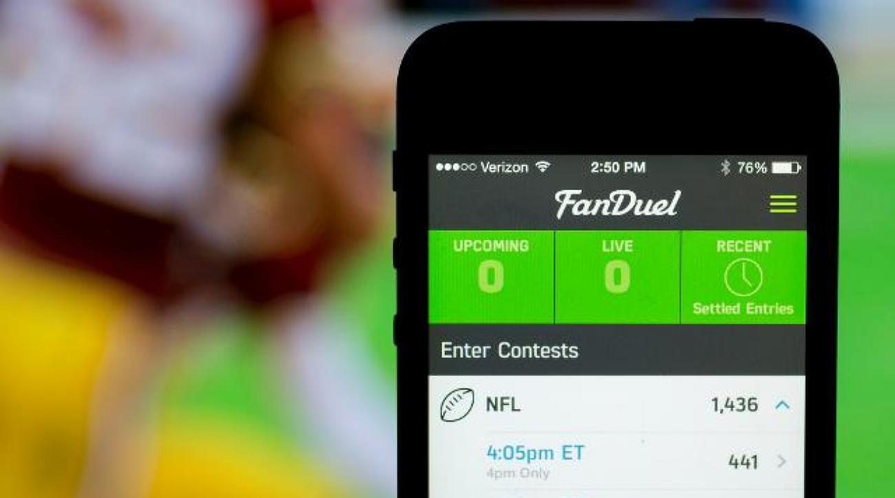 FanDuel temporarily bans New Yorkers from playing its games IMAGE