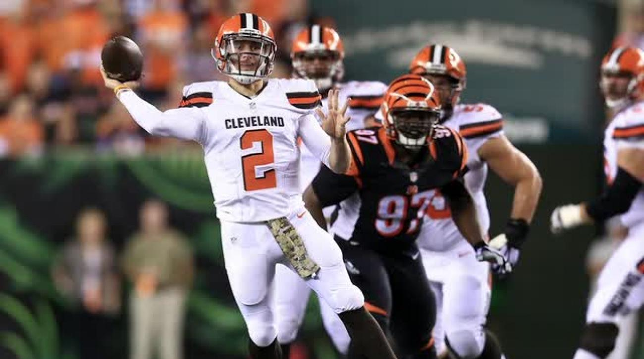 NFL will not discipline Johnny Manziel for roadside incident IMAGE