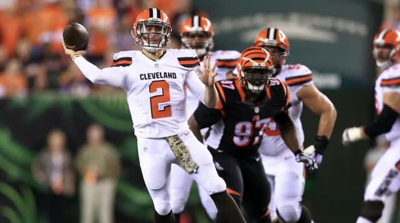 NFL will not discipline Johnny Manziel for roadside incident IMAGE
