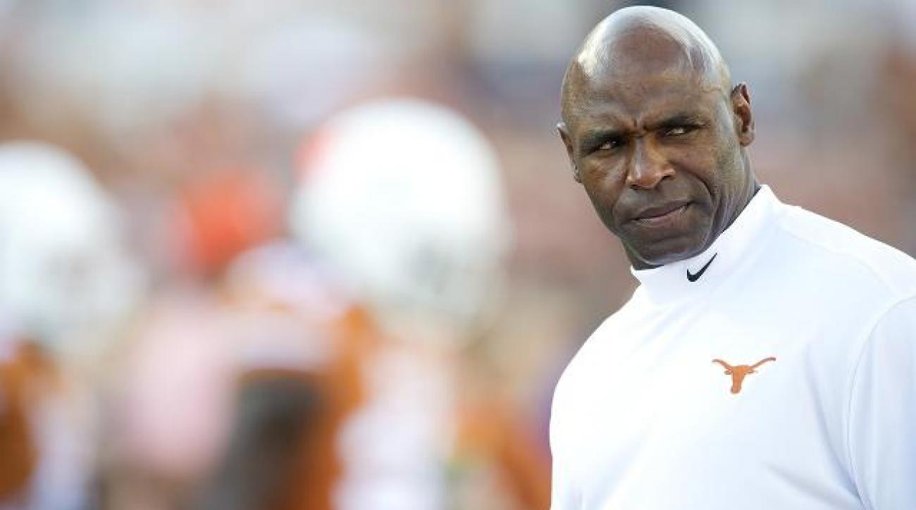 Texas coach Charlie Strong denies Miami rumors