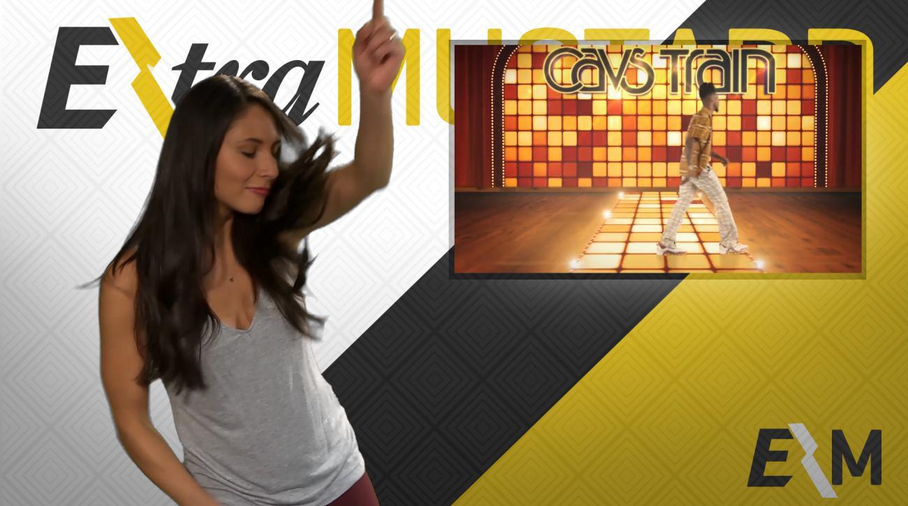 Mustard Minute: Cavaliers' Soul Train parody video set to kids music IMG