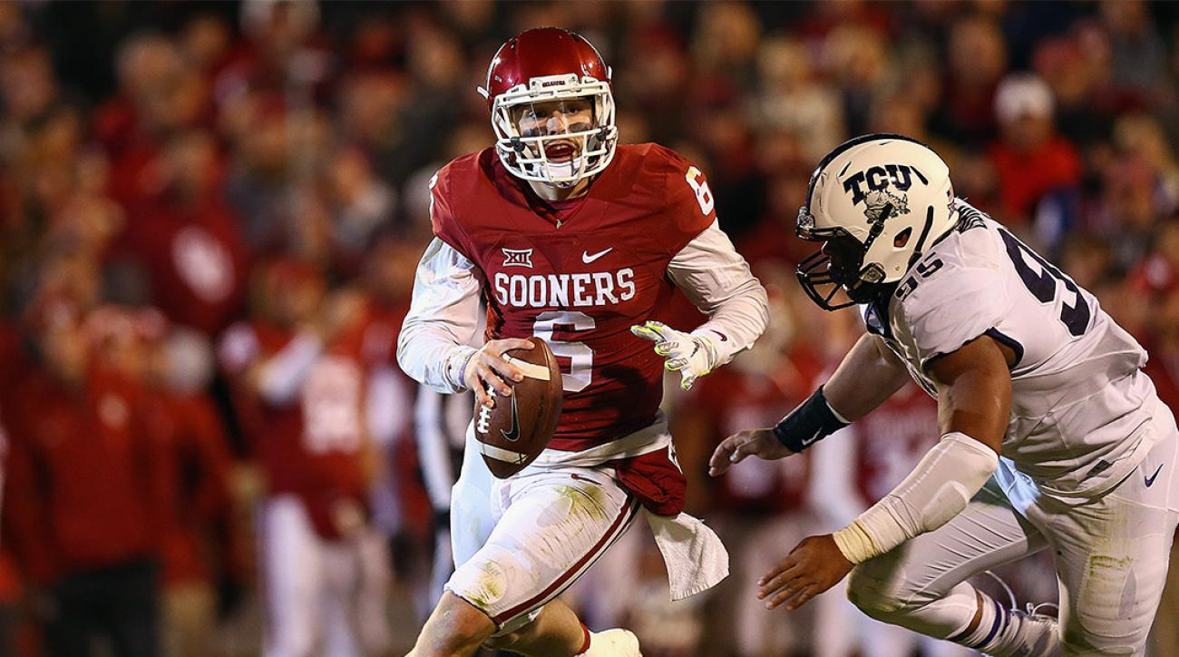 Oklahoma QB Baker Mayfield passed concussion tests after win over TCU