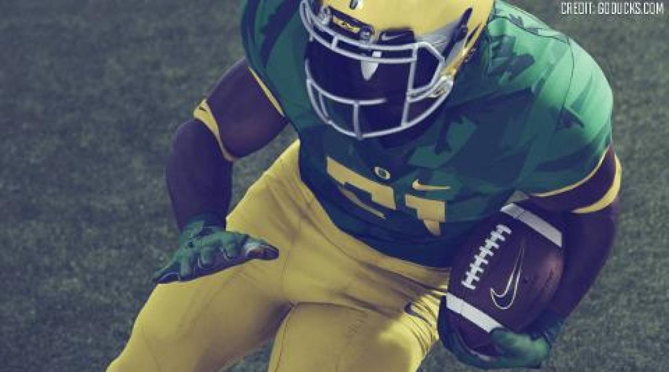 Oregon Ducks reveal special uniforms for 'Civil War' vs. Oregon State