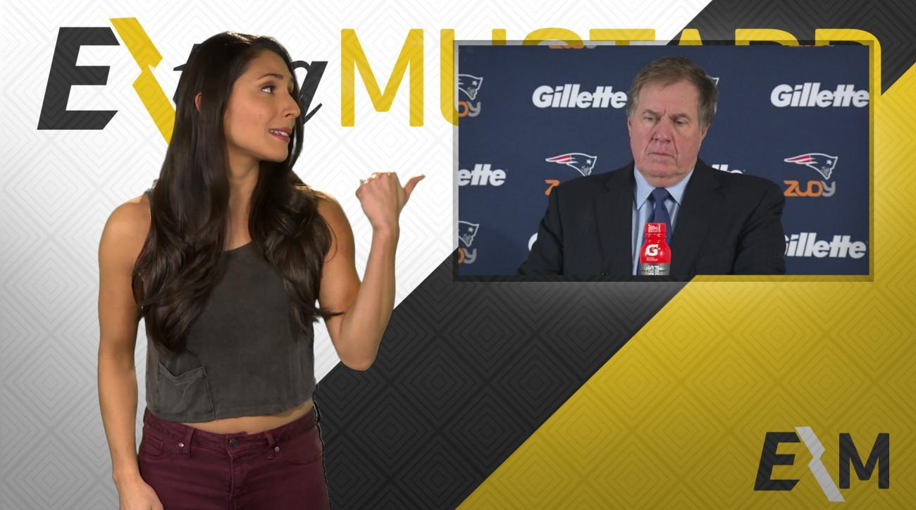 Mustard Minute: Bill Belichick has a way with words IMG