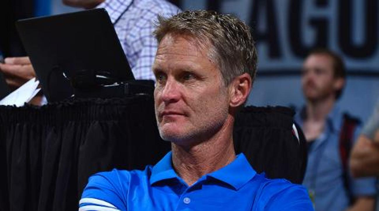 Warriors coach Steve Kerr: No timetable for return