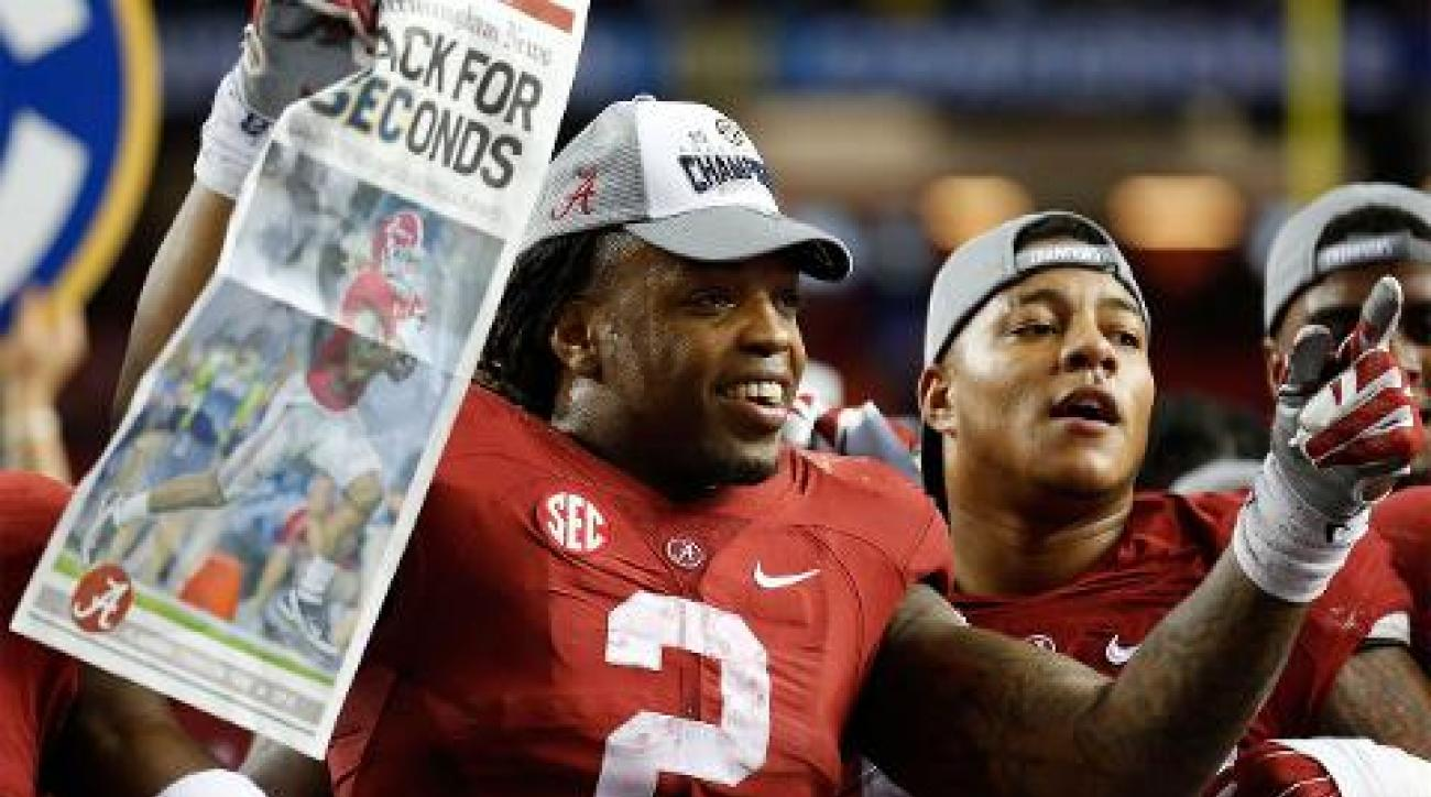 Alabama Crimson Tide, College football, college football playoff, michigan state spartans, sports illustrated, alabama michigan state, orange bowl