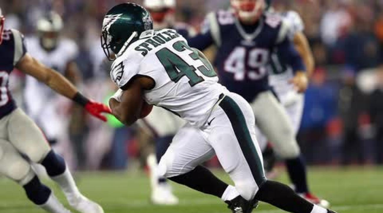 Eagles stun Brady and Patriots at home