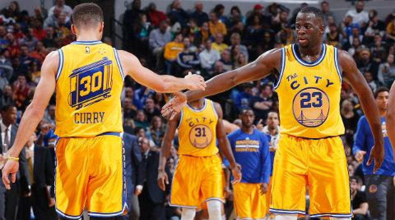 Warriors beat Pacers 131-123, improve to 23-0