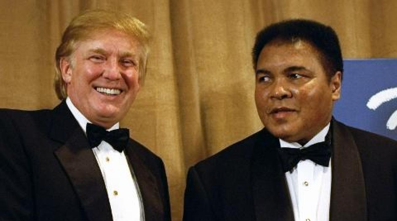 Muhammad Ali responds to Trump's call to ban Muslims from entering US IMAGE