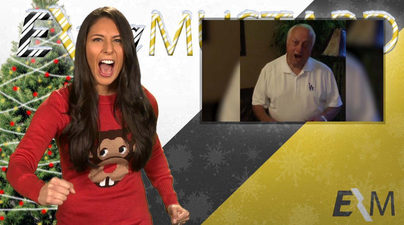 Mustard Minute's 12 Sports Nays of Christmas Day 1: Tommy Lasorda turns down for what IMG