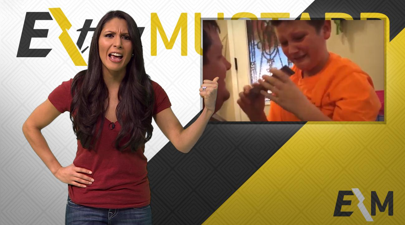 Mustard Minute: Kid's sister confused after he gets tickets to Alamo Bowl for Christmas IMG