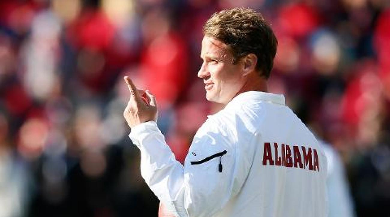 Lane Kiffin expects to stay on as Alabama OC next season