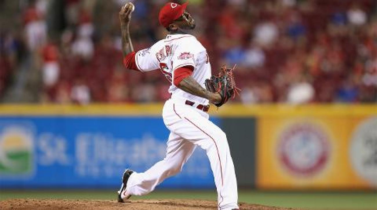 Yankees acquire Aroldis Chapman in exchange for four minor leaguers IMAGE