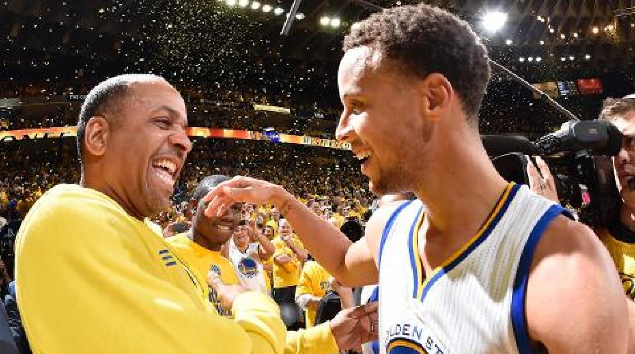 Stephen Curry, Dell Curry star in 90's Burger King commercial