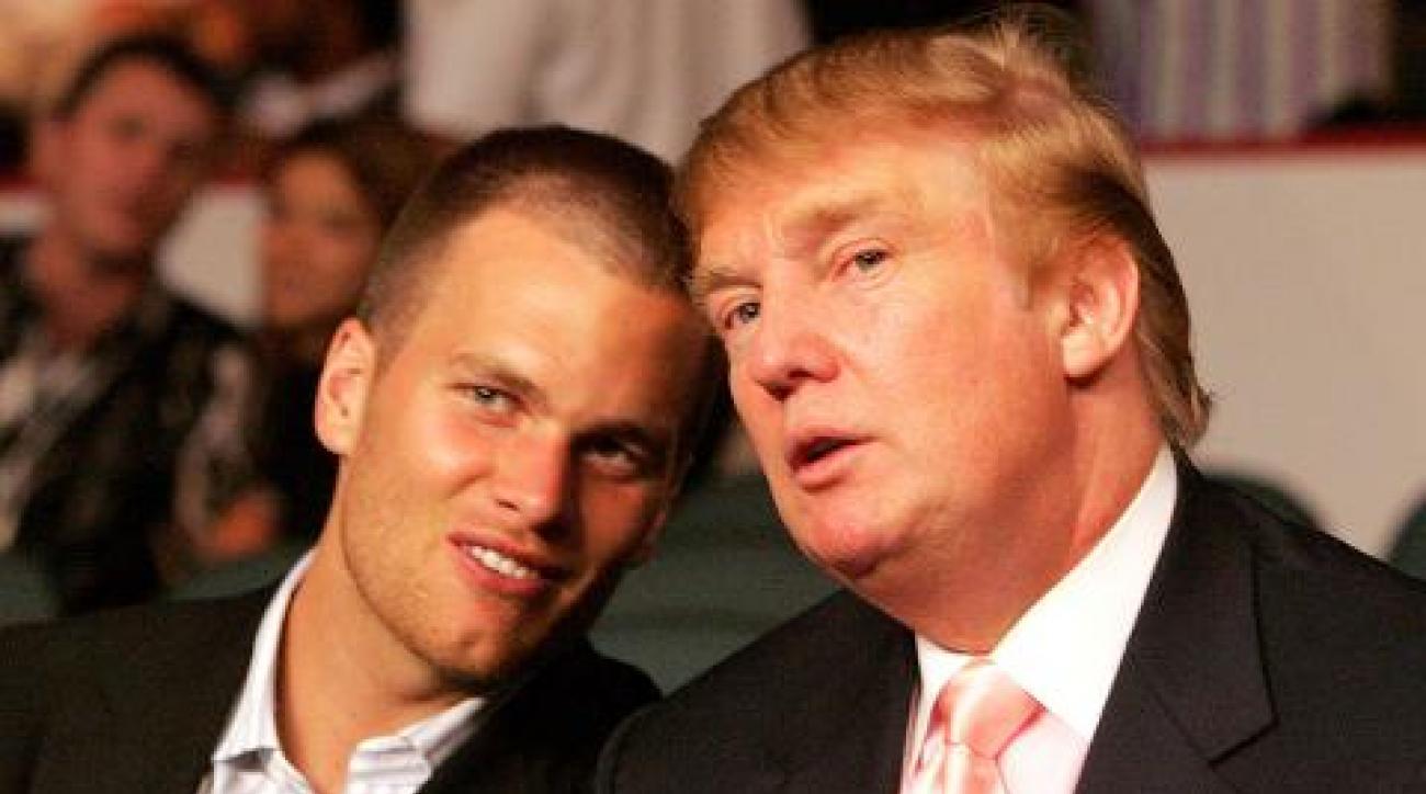 Donald Trump: Injured Tom Brady still better than anybody else