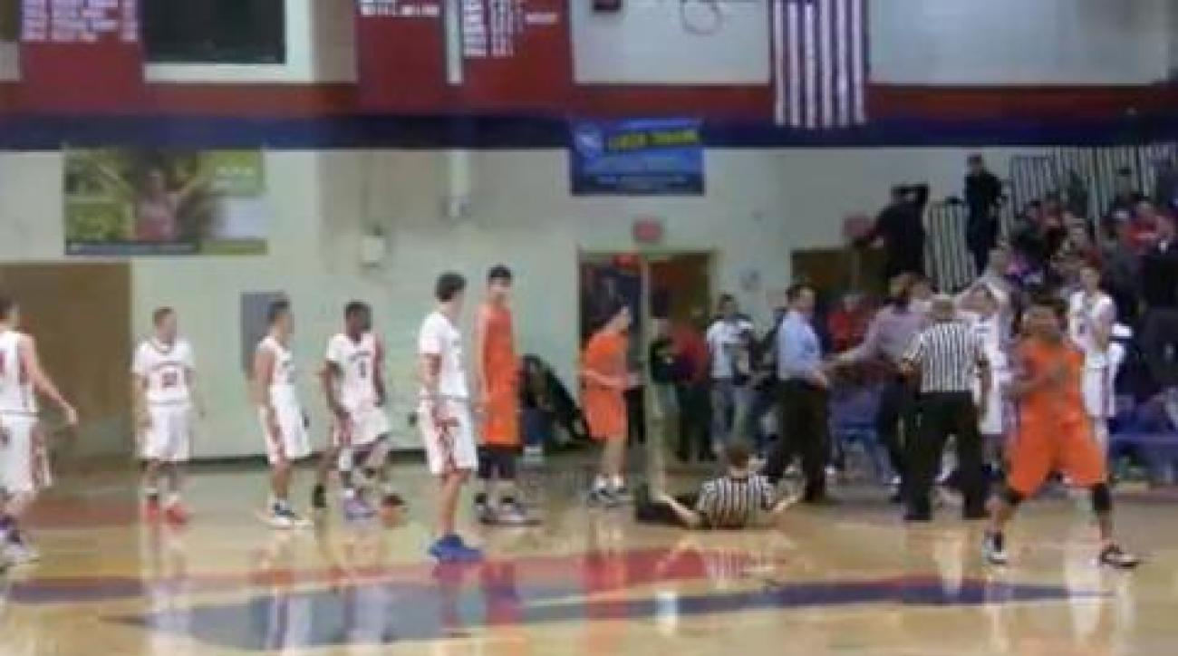 Video shows Pennsylvania high school coach headbutting referee