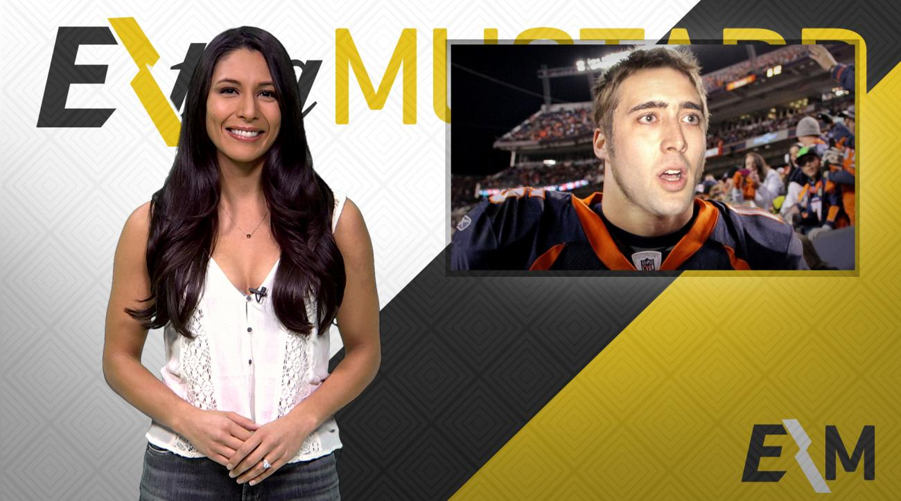Mustard Minute: Nicolas Cage's face on athletes IMG