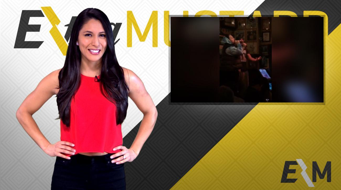 Mustard Minute: Karaoke battle with Eagles center Jason Kelce IMG