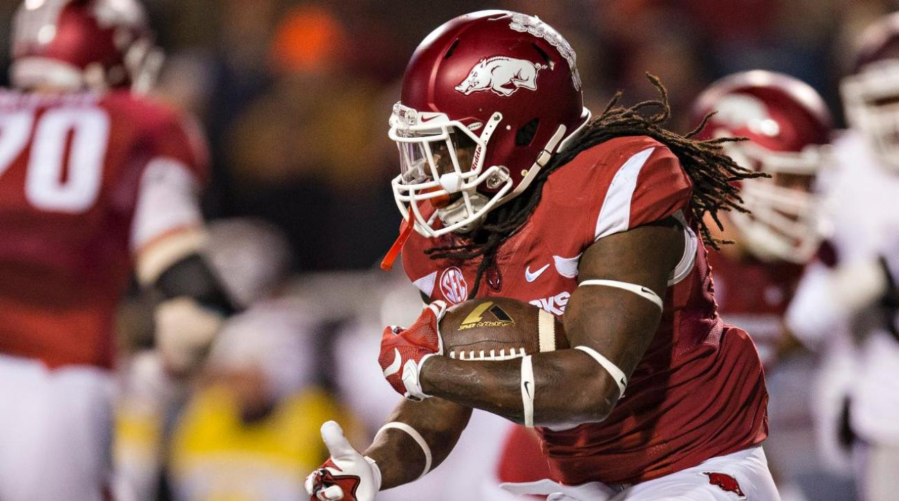 Arkansas RB Alex Collins declares for NFL draft