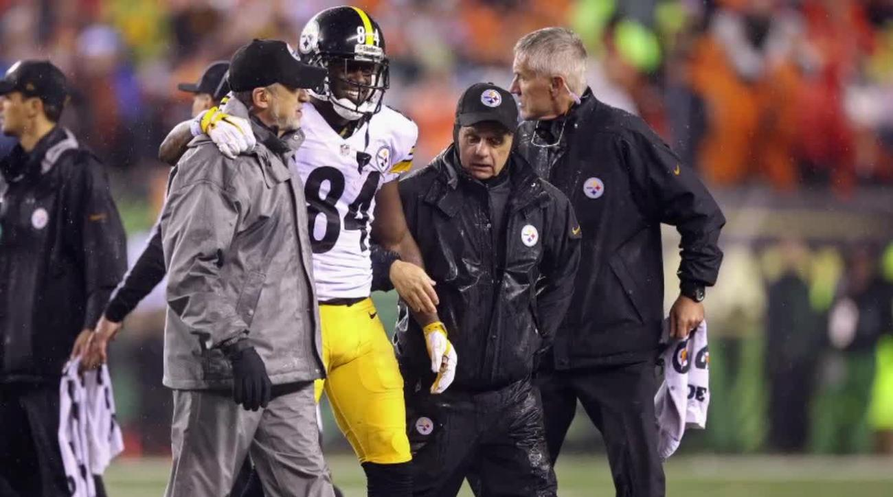 Adam 'Pacman' Jones: Antonio Brown was not hurt, he was faking