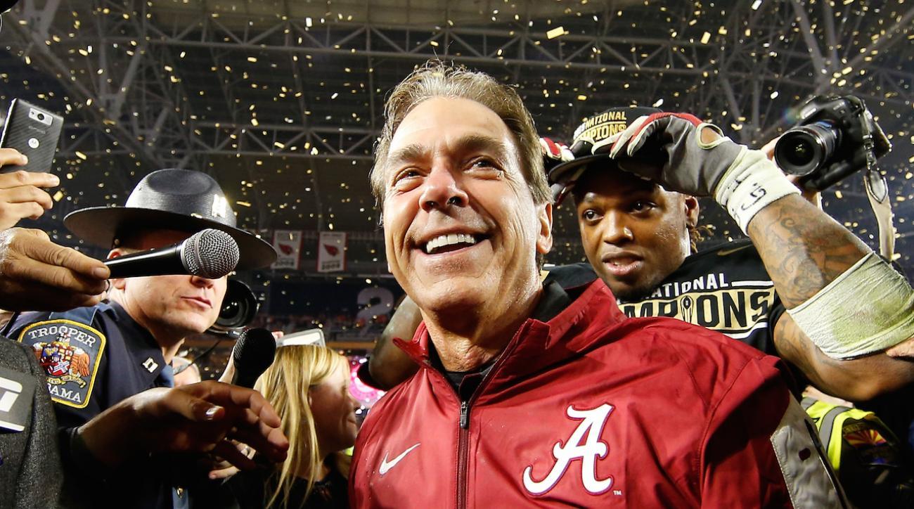 Alabama Crimson Tide, clemson tigers, Deshaun Watson, sports illustrated, alabama clemson, onside kick, alabama onside kick, national championship