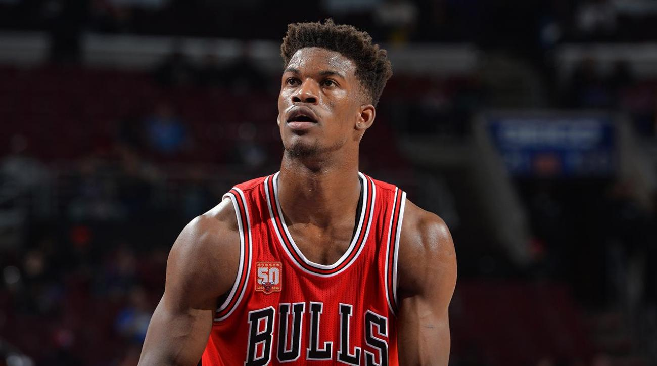 Jimmy Butler ties Stephen Curry with NBA season-high 53 points IMAGE