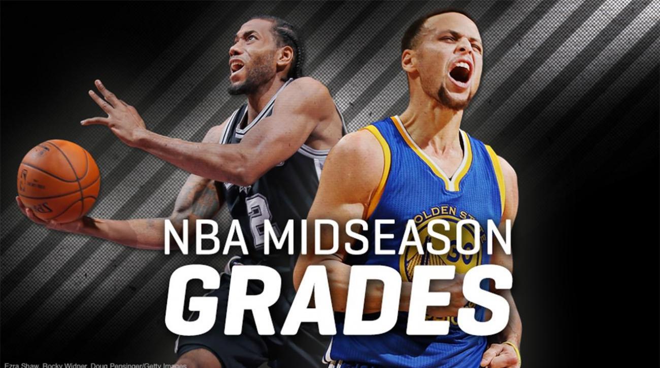 Give and Go: NBA midseason grades IMG