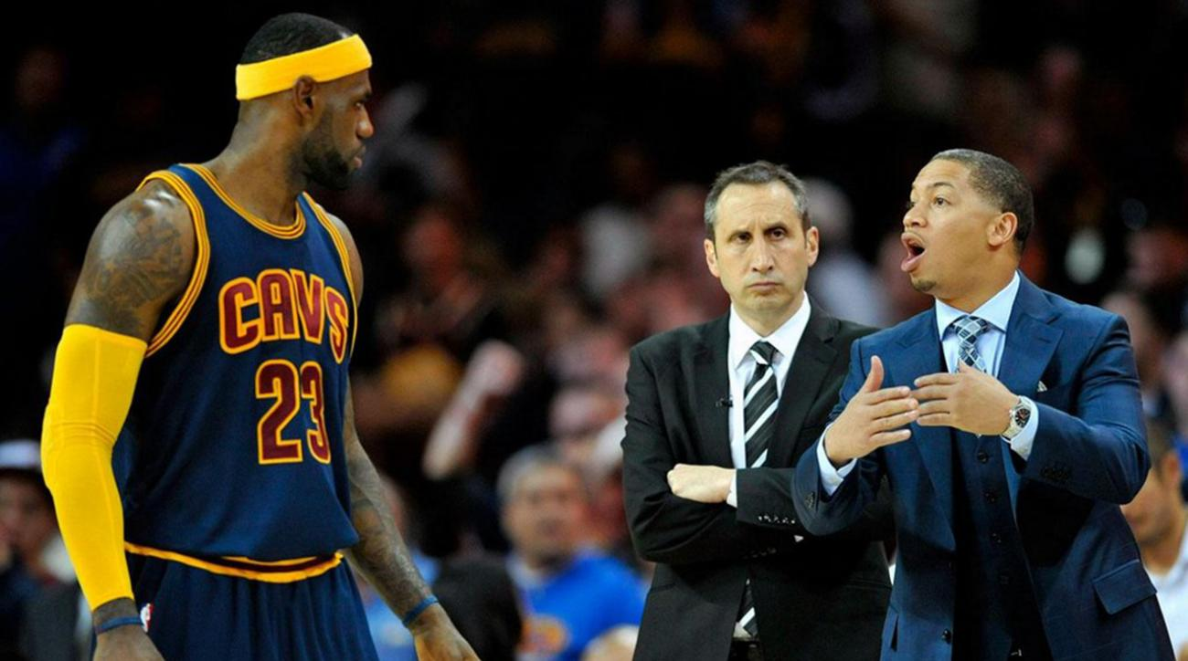 Cleveland Cavaliers betting on Tyronn Lue to elevate play IMG